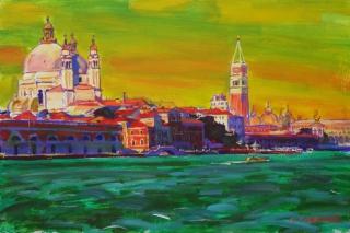 Вечер над Венецией