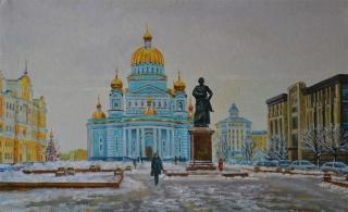 Саранск. Вид на собор