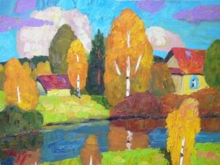 Осень в Клишино