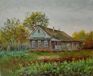 Старый дом в Пушкино.