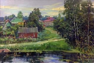 Август в деревне