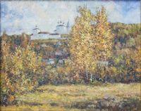 Осень. Вид на Никольский монастырь