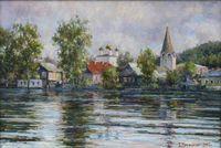 Разлив на реке Клязьма