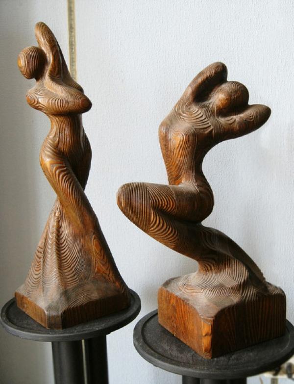 Скульптурная группа Танцовщицы