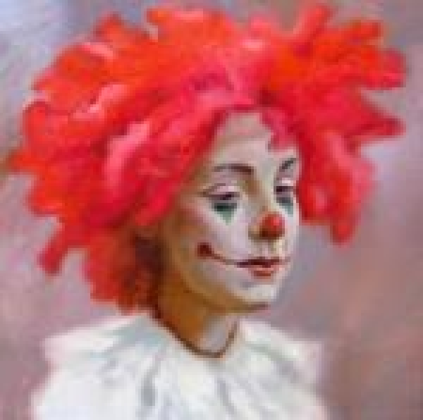 Девушка клоун