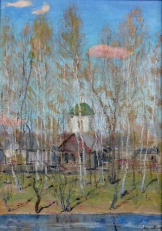Весна в Богородском