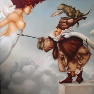 Небесная живопись. копия М.Паркес