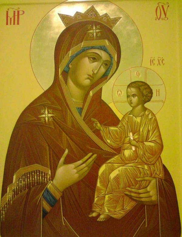 Пресвятая Богородица ИЗБАВИТЕЛЬНИЦА