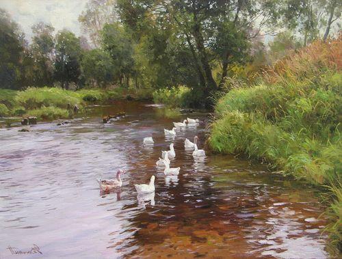 Деревенская речка