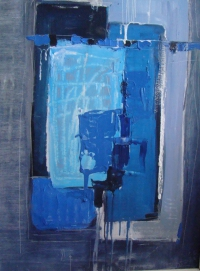 Blue abstract