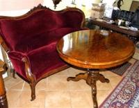 Гостиный  гарнитур (салонная мебель). Столик, диван, 2 кресла, 4 стула