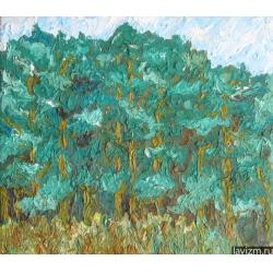 Картина Сосновый бор Тропаревский парк