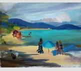 Пляжный сезон (ветреный день)