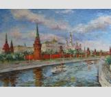 Москва. Речной трамвайчик