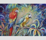 Птицы в райском саду