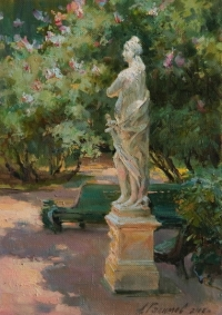Летний сад. Скульптура Правосудие