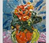Картина Бегония оранжевая