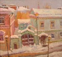 Белая ночь во Владимире. Уголок Старого города