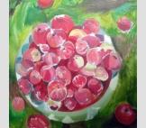 Абхазия. Красные яблочки