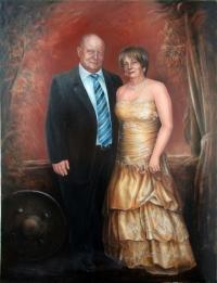 Семейный парадный портрет