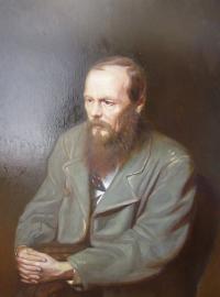 Достоевский. Копия с картины В.Перова