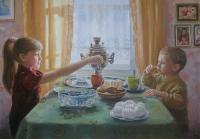 Чаепитие у бабушки