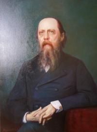 Портрет Салтыкова-Щедрина. Копия с картины И.Крамского