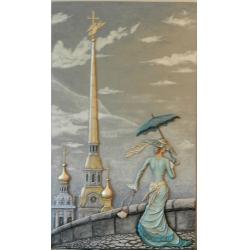 Пейзаж Петербурга