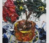 Картина Красная Азалия импрессионизм