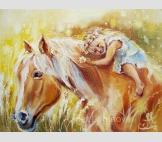 Принт Моя лошадка