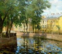 Канал Грибоедова в солнечный день