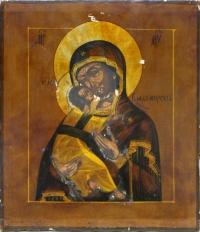 Икона Богородицы Владимирская.