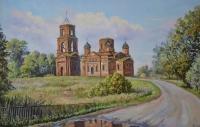 Заброшенная церковь(Стрелецкая слобода)