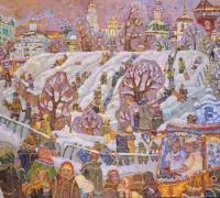 День единения во Владимире. Козлов вал.