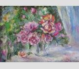 Приятный аромат роз