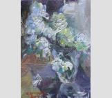 Хризантемы на столе