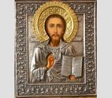 Св. Георгий Победоносец на коне.