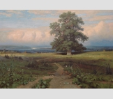 копия с картины И.Шишкина Среди долины ровныя...