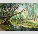 Декоративный пруд в парке Измайлово