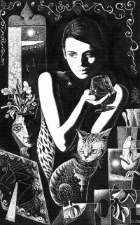 Кошка и ее Девушка