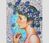Женский портрет-11