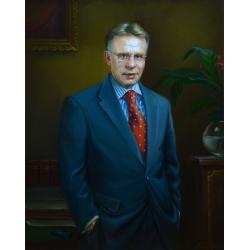 портрет В. Фетисова.
