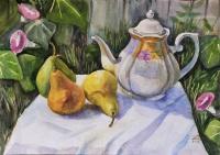 Чайник и груши