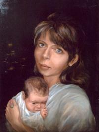 Портрет Светланы с младенцем