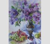 Сирень и виноград