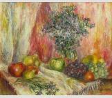 Полевые цветы с фруктами