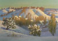 Зима на Мозырщине
