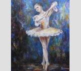 Балерина в танце