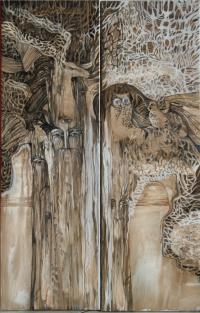 Лесной дух - диптих