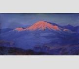 Закат в горах 1